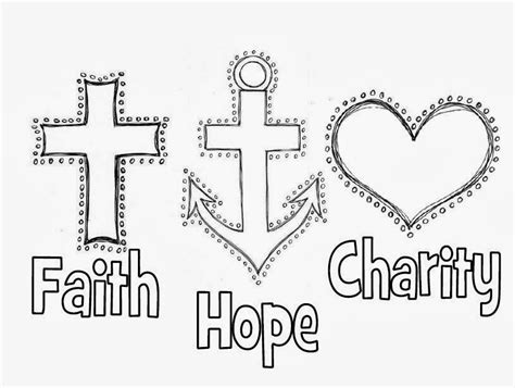 Faith Coloring Pages free coloring pages of faith