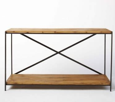 railroad tie console table 60 best tables images on occasional tables
