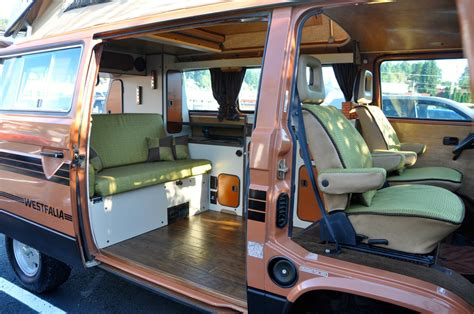 volkswagen van interior beautiful custom designed vanagon interior vanagon hacks