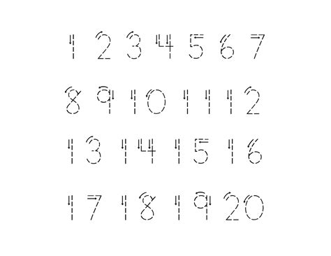 printable trace and write numbers traceable numbers 1 10 for kindergarten kids kiddo shelter