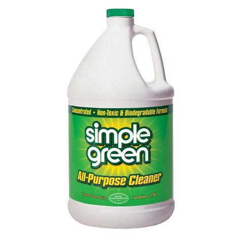 best all purpose bathroom cleaner simple green 1 gal concentrated all purpose cleaner case
