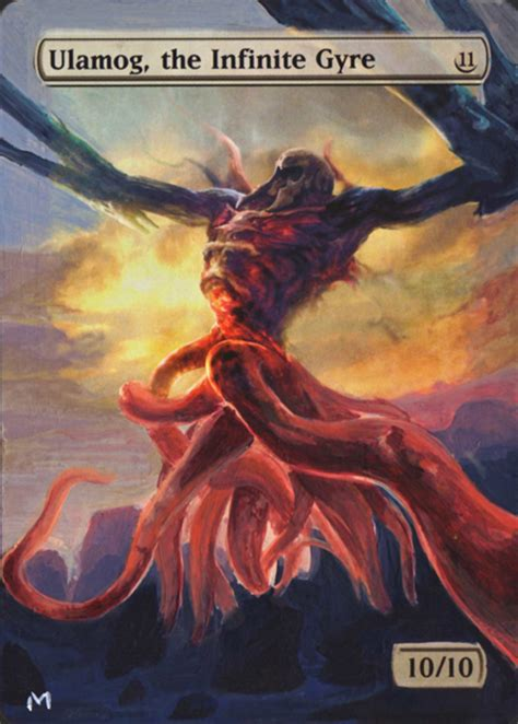 Textless/full art alterations Ulamog Mtg