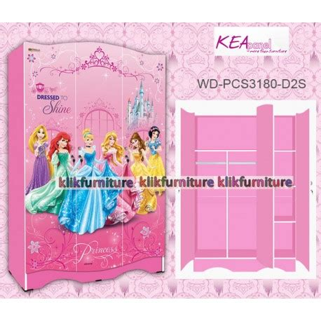Lemari Anak Kea Panel lemari anak princess wd pcs 3 180 kea panel