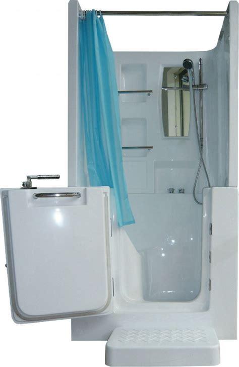 sitzwanne mit dusche senioren dusche sitzbadewanne sitzwanne badewanne mit t 252 r