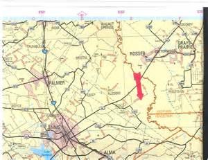 ellis county map 2260 acres in ellis county