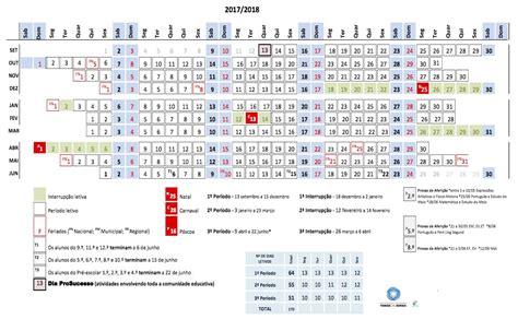 calendario escolar calendario 2018