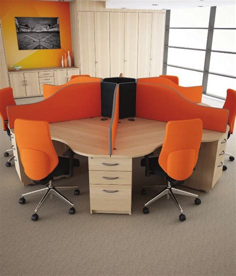 Circular Office Desk Circular Call Centre Desks