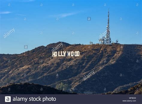 hollywood sign radio tower hollywood sign on stock photos hollywood sign on stock