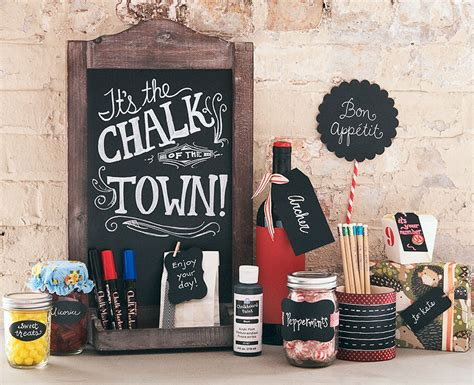 Chalkboard Craft Paper - craft ideas for