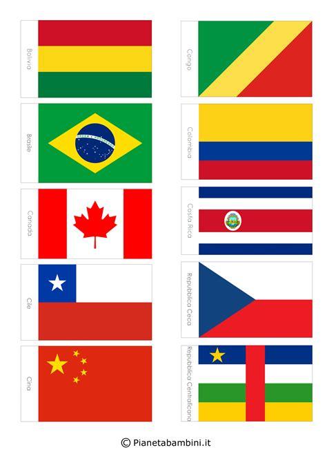 le pi禮 mondo 100 bandiere mondo da stare e ritagliare