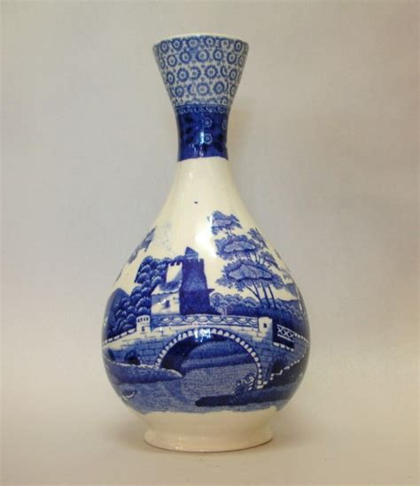 Spode Vase by Spode Blue White Vase Spode Ceramics South Perth Antiques Collectables