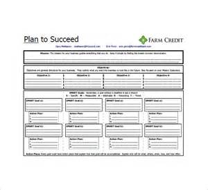 one page business plan template 8 free word excel pdf