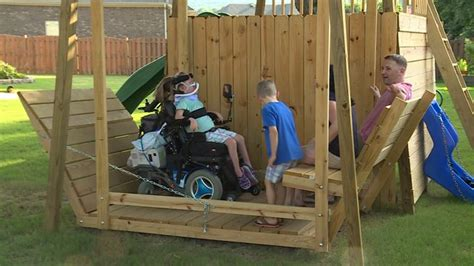 wheelchair swing plans engineers needed to help put together plans for wheelchair