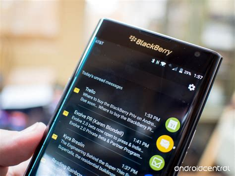 Prive Black by Blackberry Priv Review Android Central