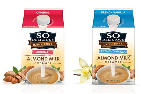 So Delicious Dairy Free Almond Milk Creamer (Review