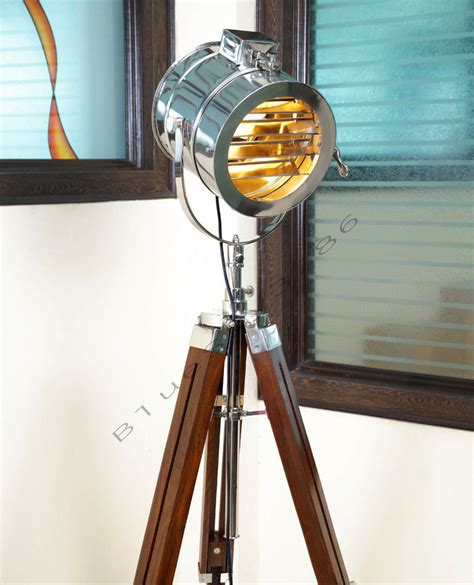 Nautical Searchlight Tripod Floor L by Designer Marine Floor L Nautical Spot Studio Tripod Floor Ls Search Light Ebay