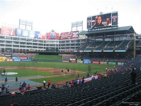 Rangers Sections by Globe Park Section 29 Rateyourseats