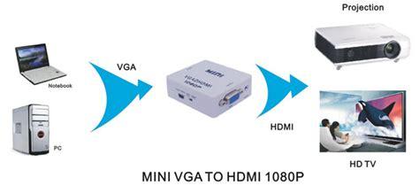 Sale Hdv M600 Converter Vga To Hdmi Up Scaler 1080p With Audio usd 54 00 hdv m600 mini vga to hdmi up scaler 1080p converter adapter box lunashops shop