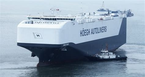 biggest roro vessel in the world world s largest car carrier ship in southton heart