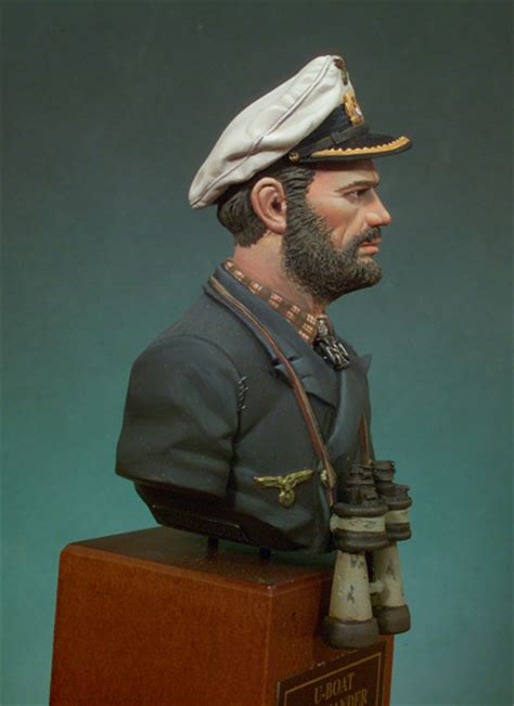 u boat captain u boat commander s9 b14 165 mm 1 10 the bust collection