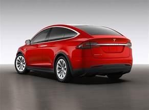 Suv Tesla X Tesla Unveils The Model X The World S Range