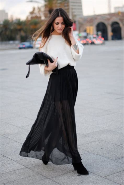 how to wear a maxi skirt glam radar