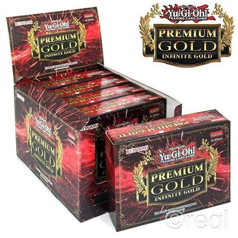 Yu Gi Oh Premium 5 new 5 yu gi oh premium infinite gold 3 pack sealed booster box cards official ebay