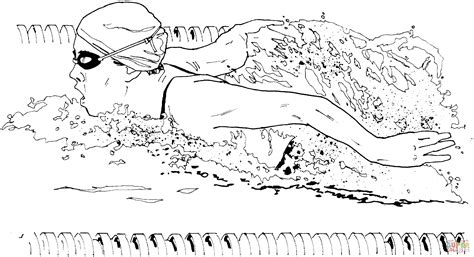 swimming pool coloring book coloring pages