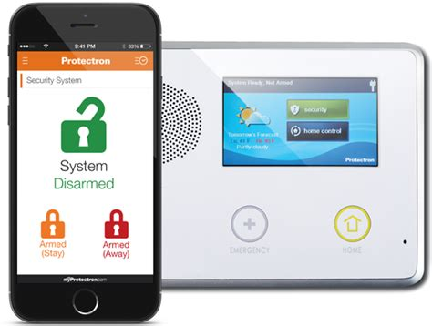 home and business security and alarm system protectron