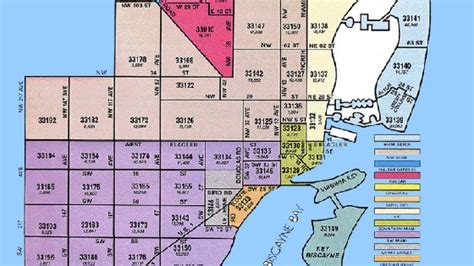 zip code map miami every zip code in miami ranked from best to worst by a