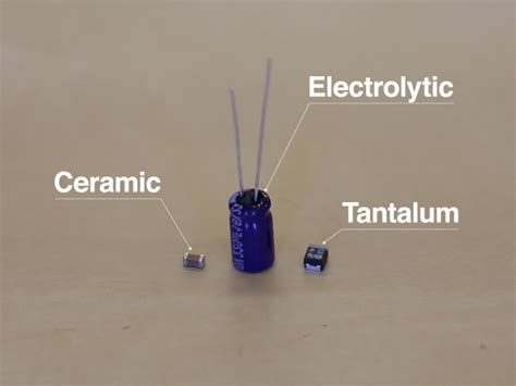tantalum capacitor or ceramic why you should de rate capacitors news sparkfun electronics