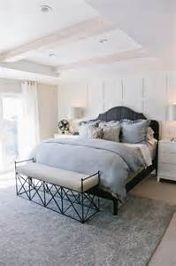 Crate And Barrel Duvet Gray And White Master Bedroom