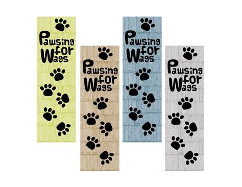 printable bookmarks dogs printable dog bookmark digital bookmark diy instant