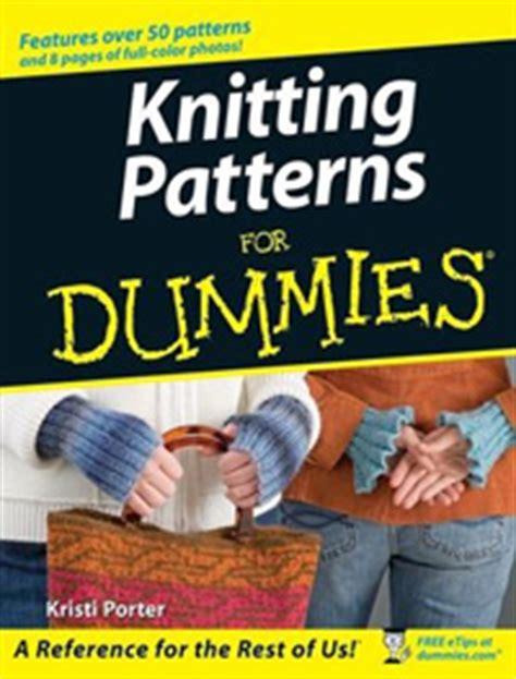 knitting for dummies knitty fall 2007