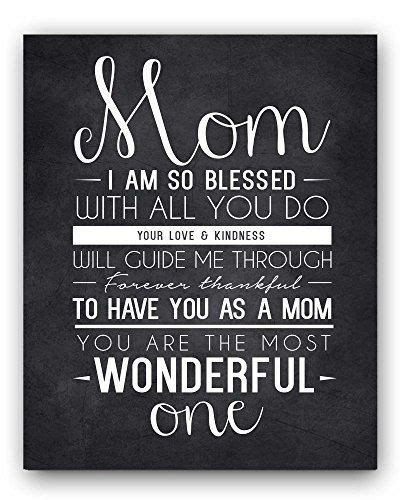 s day gift quotes quote chalkboard wall print the mothers day gift or gift for gift for