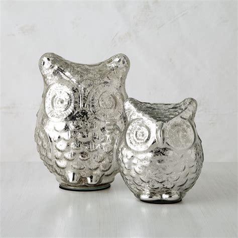 glass owl diy mercury glass in the bay
