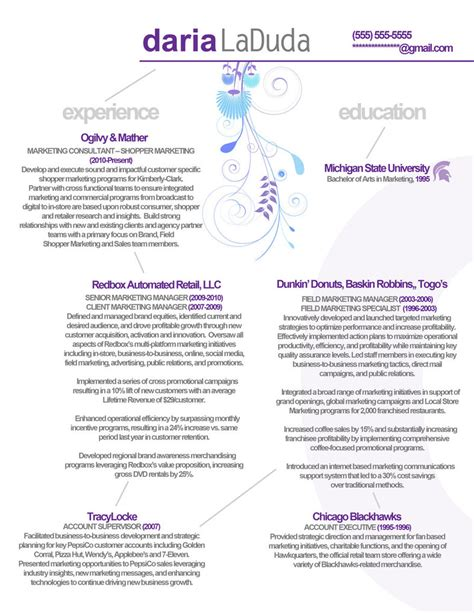 resume marketing front by rkaponm on deviantart