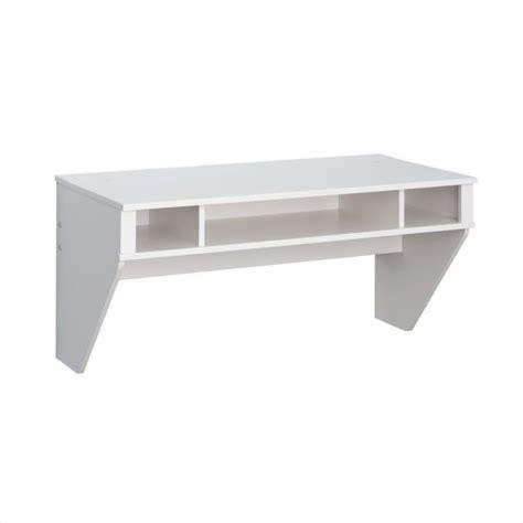 white floating desk floating desk in fresh white finish wehw 0500 1