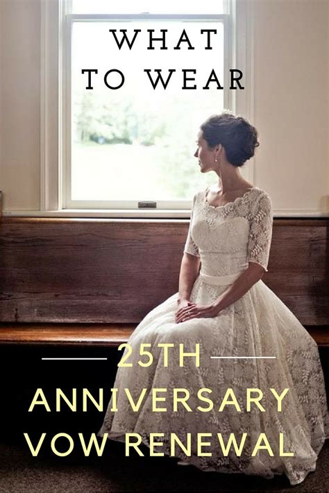 wear   anniversary vow renewal dress vow