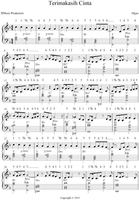 lagu pop partitur lagu pop kumpulan partitur not angka not balok resensi musik partitur lagu not balok angka indonesia