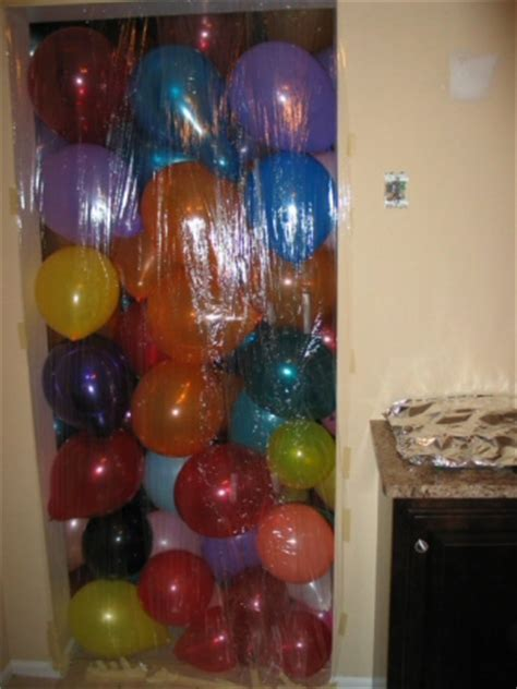 how many balloons to fill a room three wedding house pranks practical jokes one project closer