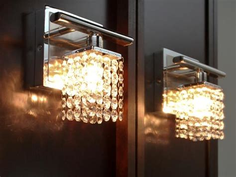 crystal bathroom sconce lighting crystal bathroom sconces hgtv