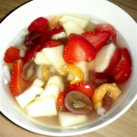 foto dan cara membuat es buah gambar es buah segar resep cara masak