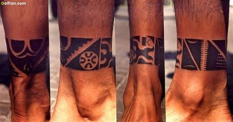 tribal ankle band tattoos 80 wonderful designs of ankle golfian