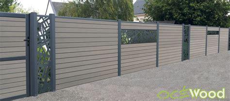 Cloture Beton Decorative by Des Lames D 233 Coratives En Aluminium Pour Ma Cl 244 Ture