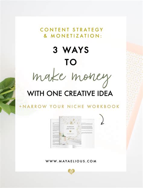 ways to make money with your creative business 3 ways to make money with 1 creative idea elious
