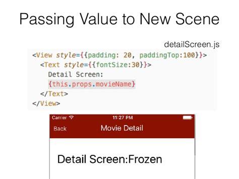 listview tutorial react native react native tutorial lecture 7 navigation scene