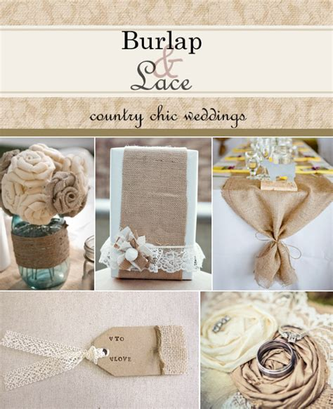 Western Theme Decorations For Home by Burlap And Lace Wedding Ideas Weddings By Lilly
