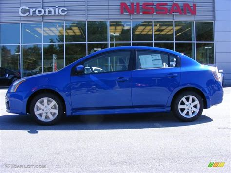 nissan sentra blue 2010 blue metallic nissan sentra 2 0 sr 19005170 photo 2