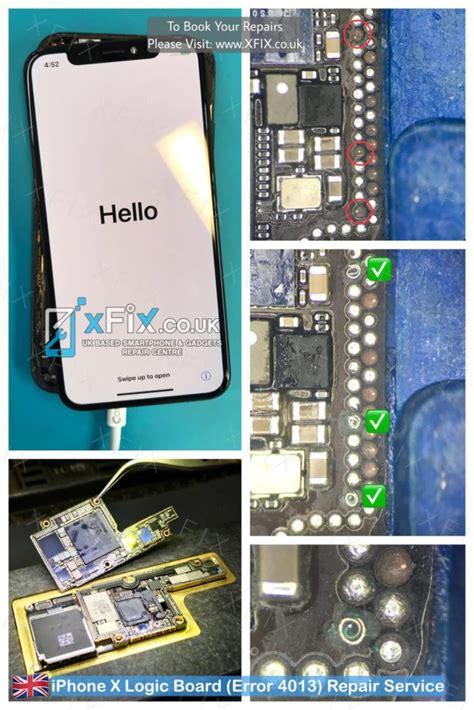 fix iphone  logic board error   dropped xfix